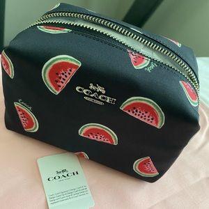 Coach Watermelon Cosmetic Case